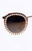 FREDA BANANA - Vic Gold Sunglasses - Designer Dress hire