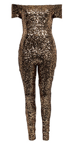 FRENCH CONNECTION - Cosmic Sparkle Jumpsuit - Designer Dress hire
