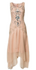 BEULAH - Silver Painted Lady - Designer Dress hire
