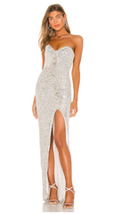 NOOKIE - Galaxy Gown - Designer Dress Hire