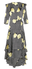 GANNI - Calla Floral Dress - Designer Dress Hire