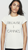 GEM&I - Because I Cannes Tee - Designer Dress hire