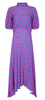 NEEDLE & THREAD - Floral Blue Gown - Designer Dress hire