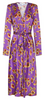 MICHAELA FRANKOVA - Gold Floral Dress - Designer Dress hire