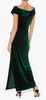 GINA BACCONI - Cassandra Dress Green - Designer Dress hire