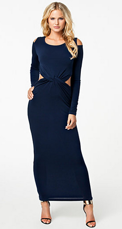 GLAMOROUS - Cold Shoulder Dress - Designer Dress hire
