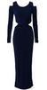 ALICE AND OLIVIA - Esther Blue Dress - Designer Dress hire