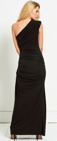 b6b23746ed6 GORGEOUS COUTURE - The Bailey Maxi Black hire at Girl Meets Dress ...