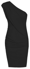 GORGEOUS COUTURE - The Bailey Dress Black - Rent Designer Dresses at Girl Meets Dress