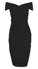 GORGEOUS COUTURE - The Lucianna Midi Dress - Designer Dress Hire