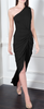GORGEOUS COUTURE - The Liliana Maxi Black - Designer Dress hire