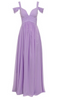 FOREVER UNIQUE - Greta Lilac Gown - Designer Dress hire