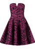 HALSTON HERITAGE - Boysenberry Dress - Designer Dress hire