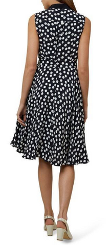 HOBBS - Belinda Polka Dress - Designer Dress hire