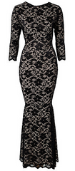 HONOR GOLD - Faye Maxi Dress Black - Rent Designer Dresses at Girl Meets Dress