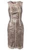 PIERRE BALMAIN - Velvet Sparkle Dress - Designer Dress hire