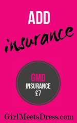 GMD - Insurance - Designer Dress Hire