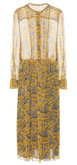 ISABEL MARANT, ÉTOILE - Baphir Silk Dress - Designer Dress Hire