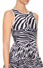 ISSA - Zebra Knit Dress - Designer Dress hire