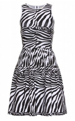 ISSA - Zebra Knit Dress - Rent Designer Dresses at Girl Meets Dress