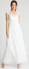 IVY AND OAK - Long Patch Bridal Dress - Designer Dress Hire