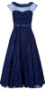 CARMEN MARC VALVO - Sleeveless Lace Shutter Gown - Designer Dress hire