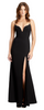 QUIZ - Sleeved Sequin Fishtail Gown - Designer Dress hire