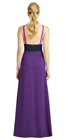 JILL JILL STUART - Heather Colour Blocked Gown - Designer Dress hire