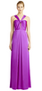 ADRIANNA PAPELL - Strapless Limelight Gown - Designer Dress hire
