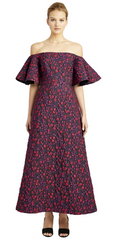 JILL JILL STUART - Margot Brocade Midi Dress - Rent Designer Dresses at Girl Meets Dress