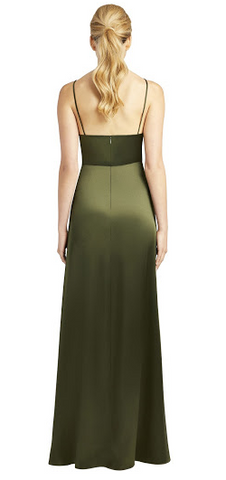 95e294955cf JILL JILL STUART - Thandie Slip Olive Dress hire at Girl Meets Dress ...