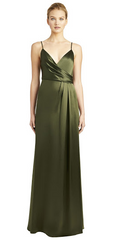 JILL JILL STUART - Thandie Slip Olive Dress - Rent Designer Dresses at Girl Meets Dress