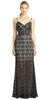 ARIELLA - Marina Sequin Evening Gown - Designer Dress hire