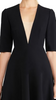 JILL JILL STUART - Chrissy Black Illusion Dress - Designer Dress hire