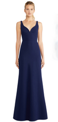 JILL JILL STUART - Francesca Blue Sweetheart Gown - Designer Dress Hire