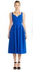 CHI CHI LONDON - Blue Flower Dress - Designer Dress hire