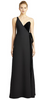 WHISTLES - Mila Daisy Maxi Black  Dress - Designer Dress hire