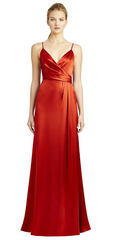 JILL JILL STUART - Thandie Slip Rust Dress - Designer Dress Hire