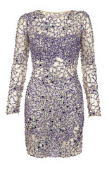 JOVANI - Blue Sequin Dress - Rent Designer Dresses at Girl Meets Dress