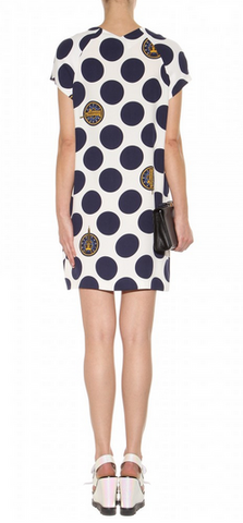 KENZO - Spotted Printed Dress - Designer Dress hire