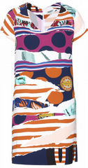 KENZO - Vibrant Jersey Dress - Designer Dress Hire