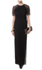 KILIAN KERNER - Charlize Black Gown - Designer Dress hire
