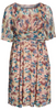 Self Portrait - Frilly Printed Dress - Designer Dress hire