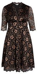 KIYONNA - Mon Cherie Lace Dress - Rent Designer Dresses at Girl Meets Dress