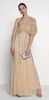 GORGEOUS COUTURE - The Liliana Maxi Blush - Designer Dress hire