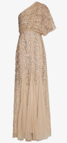 LACE & BEADS - Rose Maxi Sequin Gown - Designer Dress hire