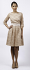 MAIDS TO MEASURE - Lacey Dress Coffee - Designer Dress hire
