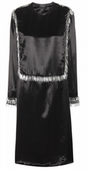 LANVIN - Embellished Satin Dress - Designer Dress Hire