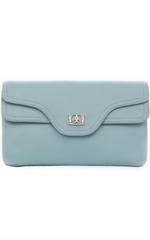 LILIYANG - Isadora Clutch Blue - Designer Dress Hire