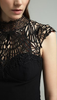 LIPSY - Black Lace Jumpsuit - Designer Dress hire